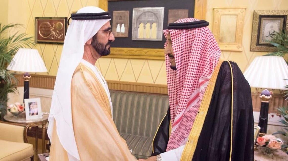 الملك سلمان محمد بن راشد