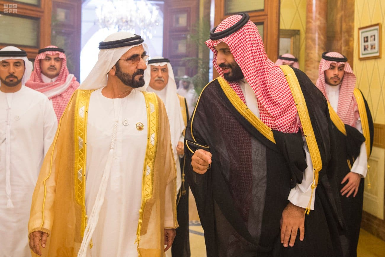 شیخ محمد بن راشد نے  شاہ سلمان بن عبدالعزیز اور  ولی عہد شہزادہ محمد بن سلمان سے ملاقات بھی کی ہے۔ہمی دلچسپی کے امور پر  تبادلہ خیال کیا ہے۔