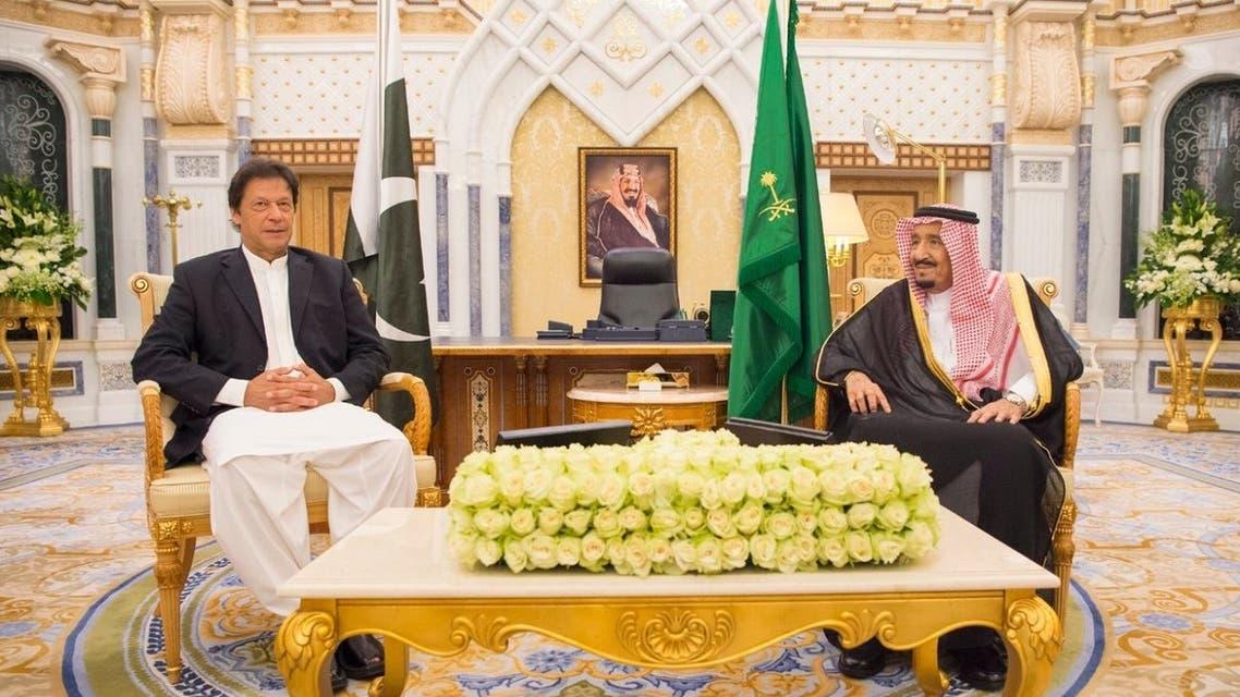 عمران خان في السعودية