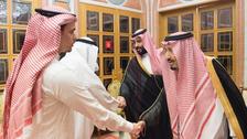 Saudi King, Crown Prince receive Khashoggi's family in Riyadh