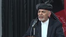افغان صدر کا مسلح افواج کو دہشت گردوں کے خلاف کارروائی کا حکم