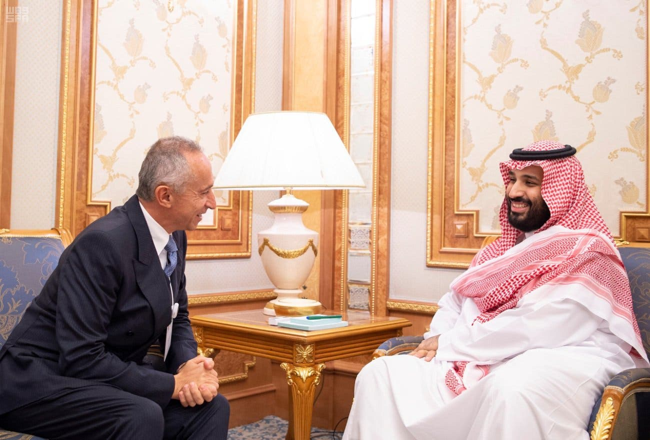 IN PICTURES: Saudi Crown Prince Mohammed meets with global business leaders
