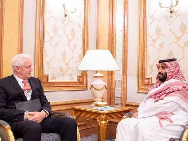 الأمير محمد بن سلمان يلتقي رئيس شركة أكور