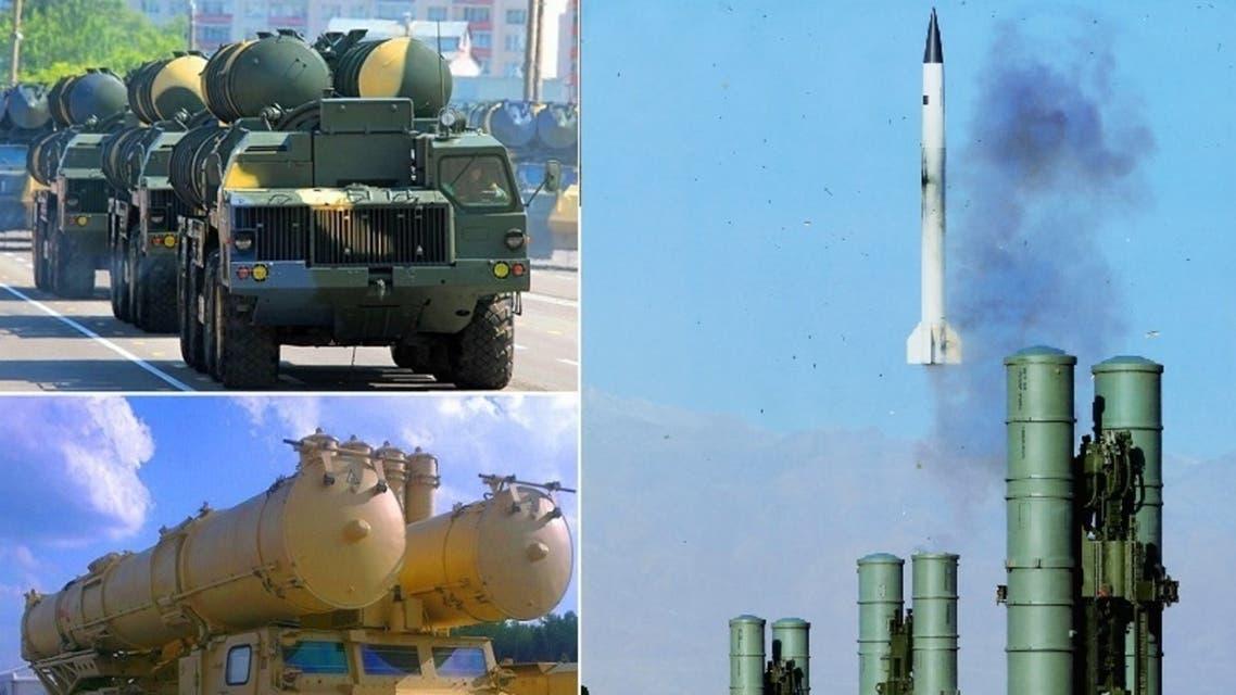 صواريخ أس-300 الروسية، موجودة في مصر وايران أيضا