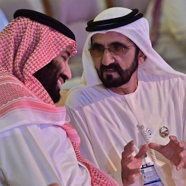 هكذا رحب حاكم دبي بولي عهد السعودية.. لك الوفاء يا محمد
