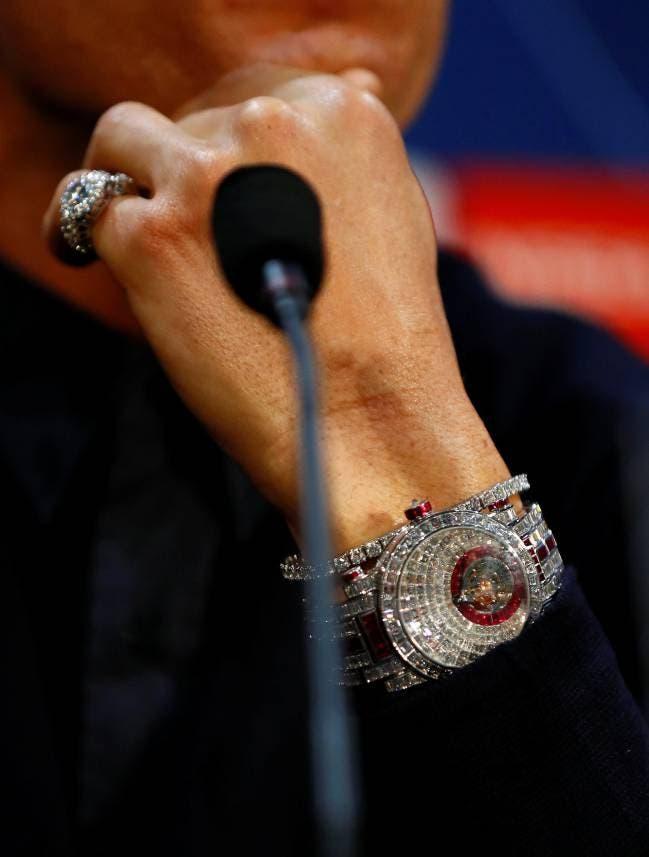 ساعة فرانك مولر الذي يبلغ سعرها أكثر من مليوني دولار