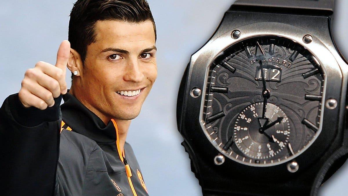 ساعة بولغاري التي أهداها إلى زملائه في فريق ريال مدريد