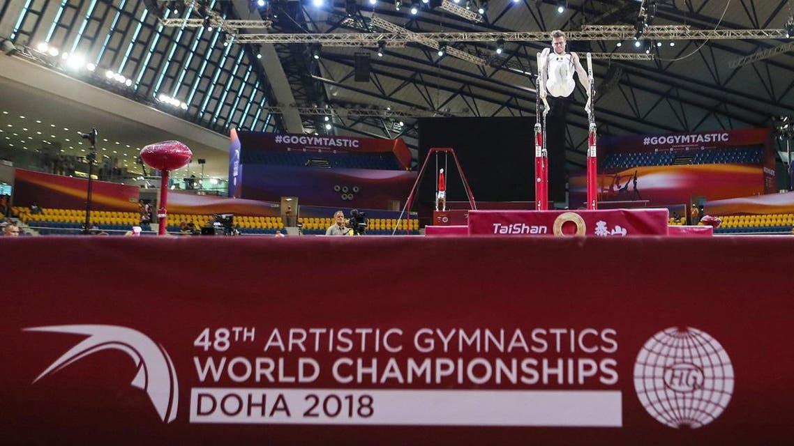 Qatar Gymnastics Championships 2018 (AFP)