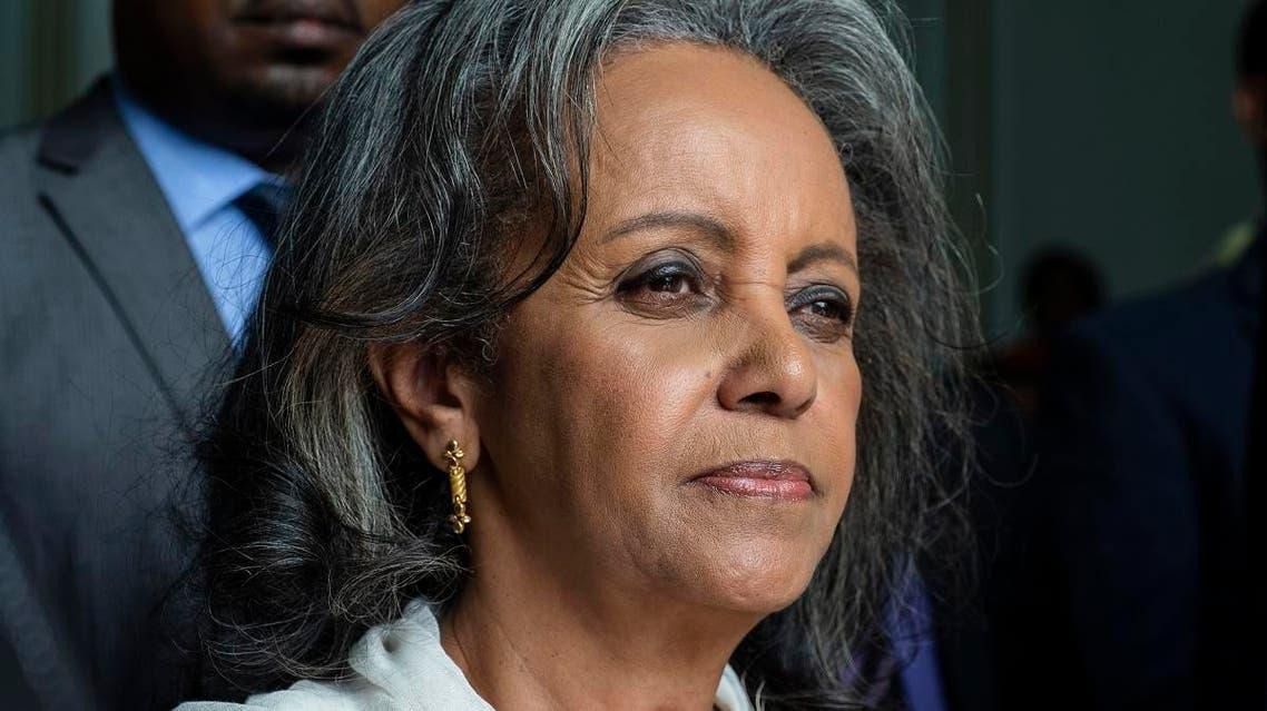 Ethiopia President Sahle-Work Zewde (AFP)