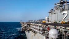 Iran small boats shadow US ship carrying top US commander