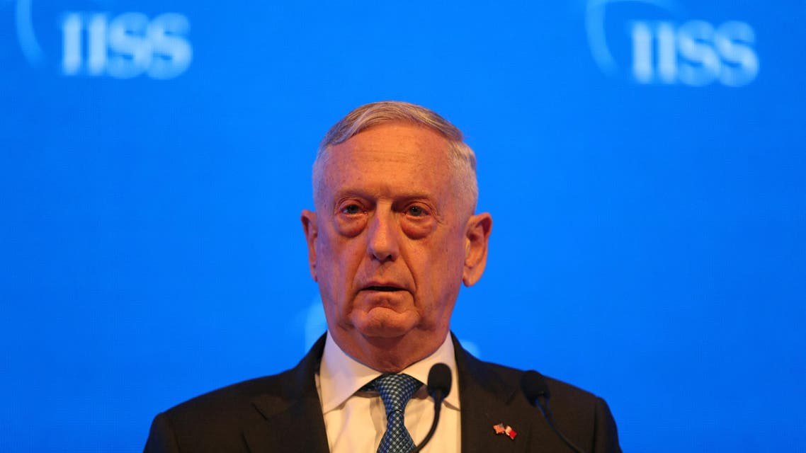 Pentagon chief Jim Mattis told Arab leaders on Saturday that Russia is no replacement for the United States in the Middle East following Moscow's military intervention in Syria. (Reuters)