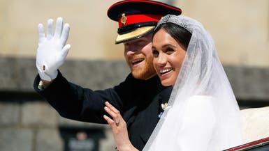 ثياب زفاف الأمير هاري وميغان ماركل أمام زوار قصر وندسور