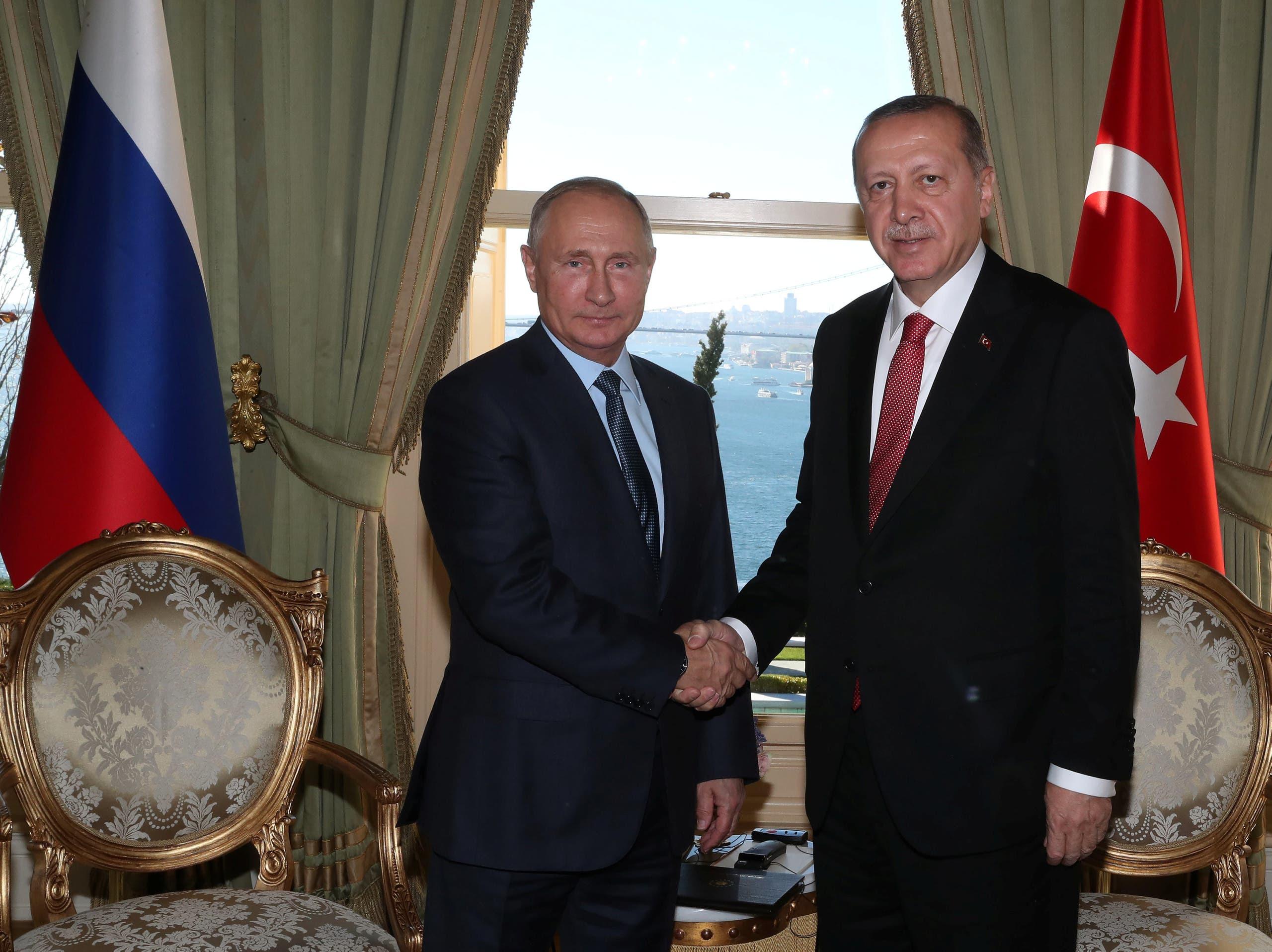 بوتين اردوغان