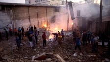 Israeli army says Syria ordered Gaza rocket fire with Iran backing
