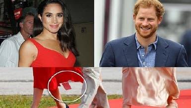 عبارة عربية في فستان وخطأ فادح ارتكبته زوجة الأمير هاري