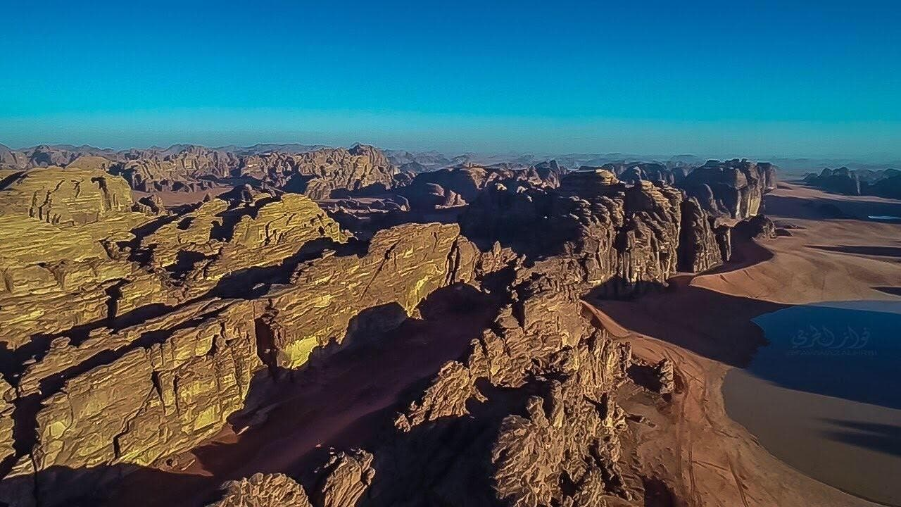 IN PICTURES: What did the rains do to the mountains of NEOM? 7