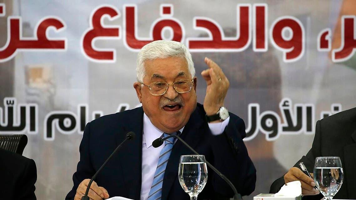 Palestinian president Mahmud Abbas 3 (AFP)