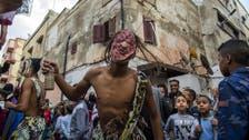 Youth transform 'Morocco's Halloween' festival Boujloud