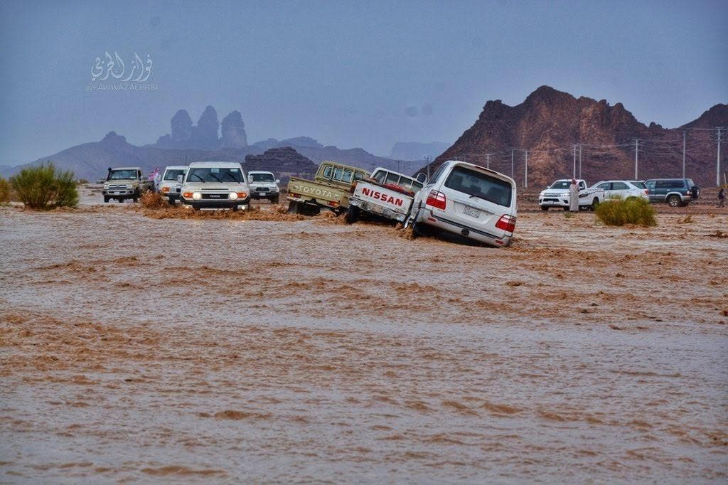 IN PICTURES: What did the rains do to the mountains of NEOM? 5