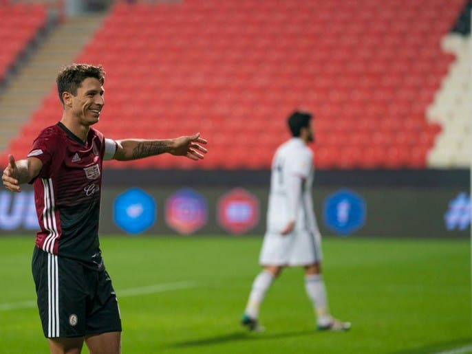 النصر الإماراتي يعلن تعاقده مع تيغالي