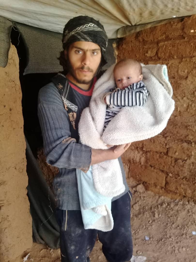 الأب مع طفله