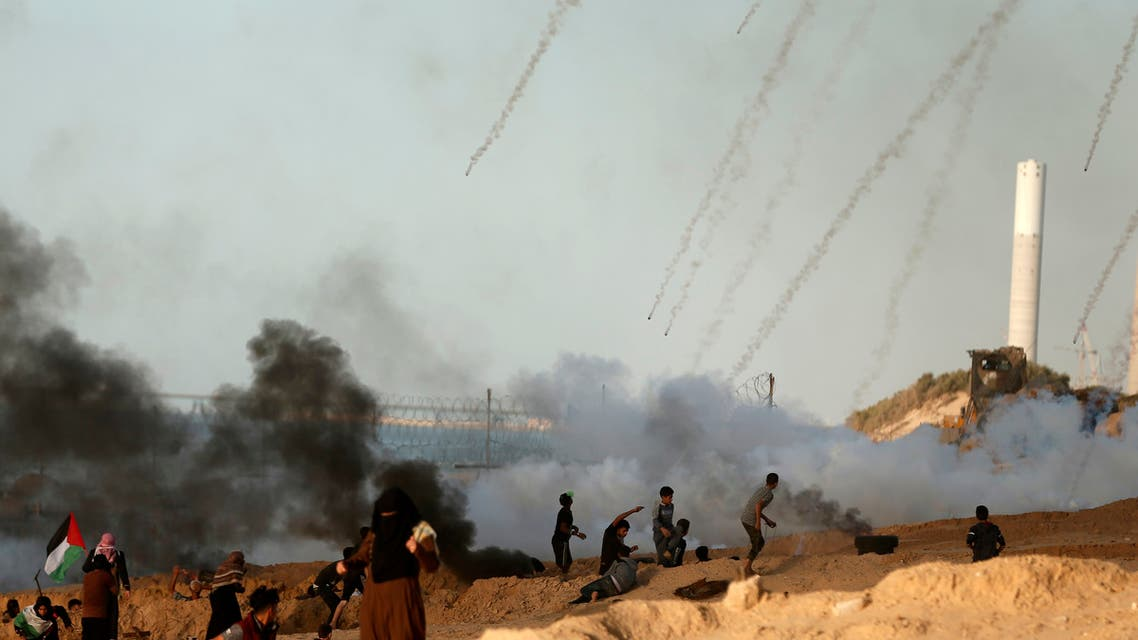 مواجهات غزة حدود
