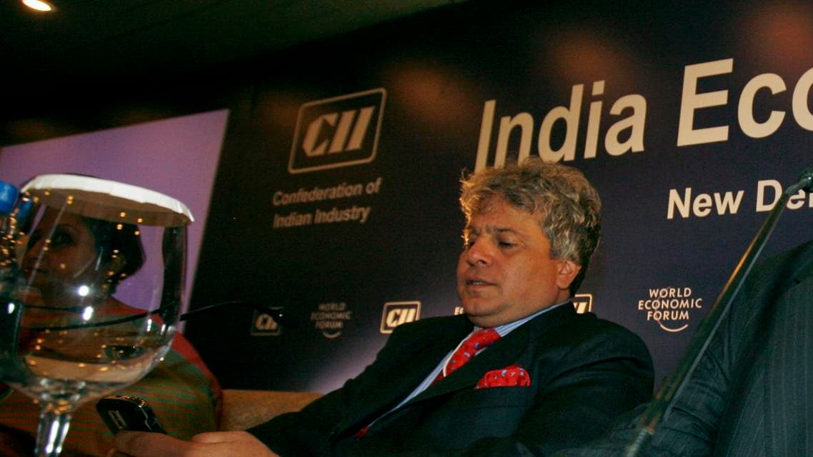 Suhel Seth seen during India economic forum in New Delhi, India, Monday, Nov. 17, 2008. (AP)