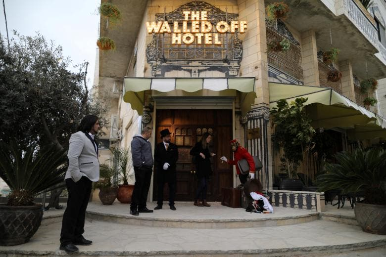 Inside Banksy's Walled Off Hotel in Bethlehem