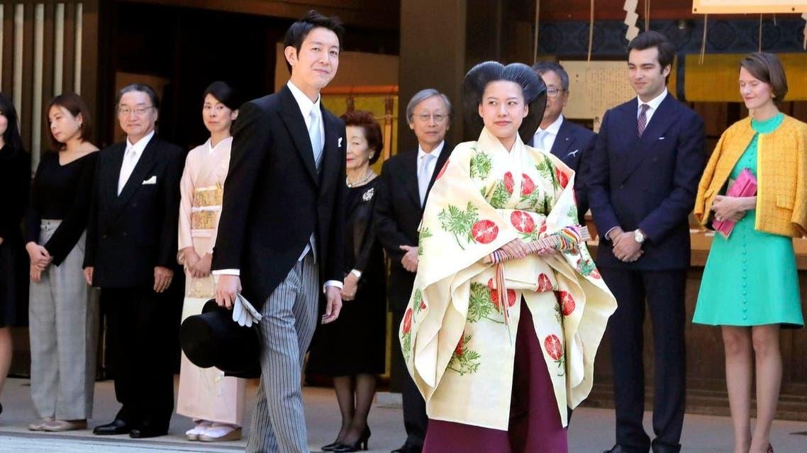 زواج أميرة يابانية
