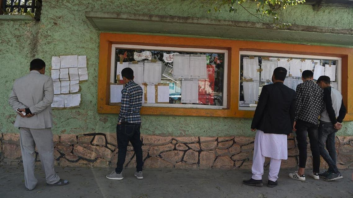 Afghnistan elections. (AFP)