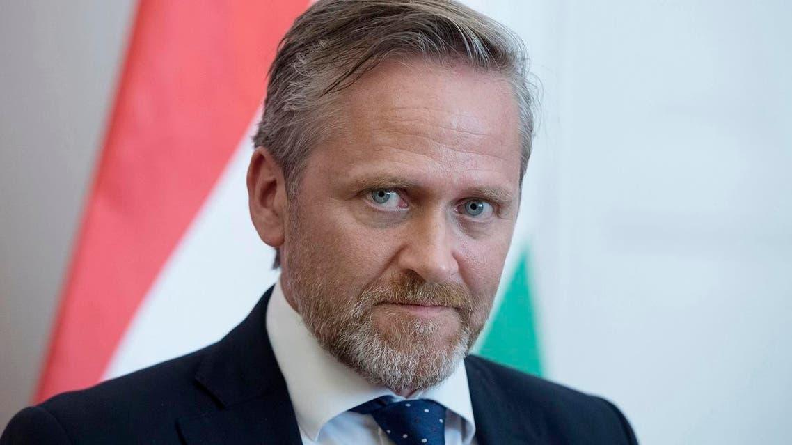 Danish FM Anders Samuelsen. (AP)