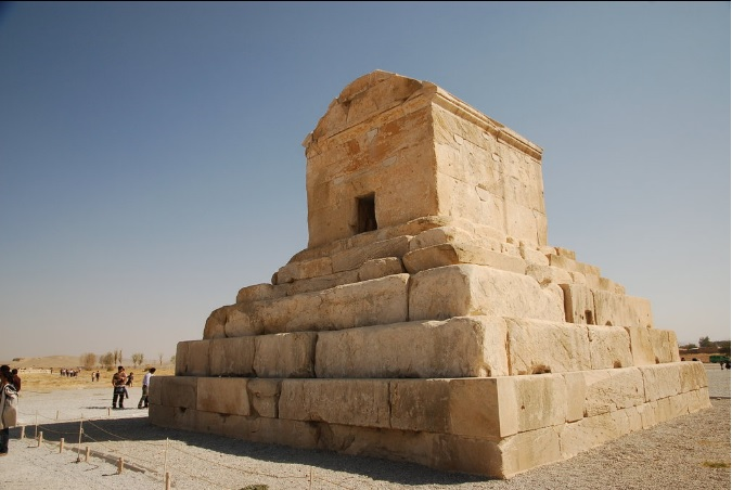 King Cyrus's Tomb. (Supplied)