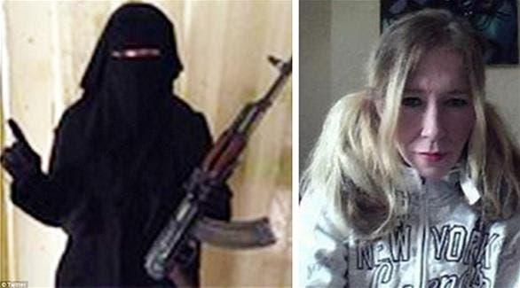 سالی جونز پیش از و پس از پیوستن به داعش