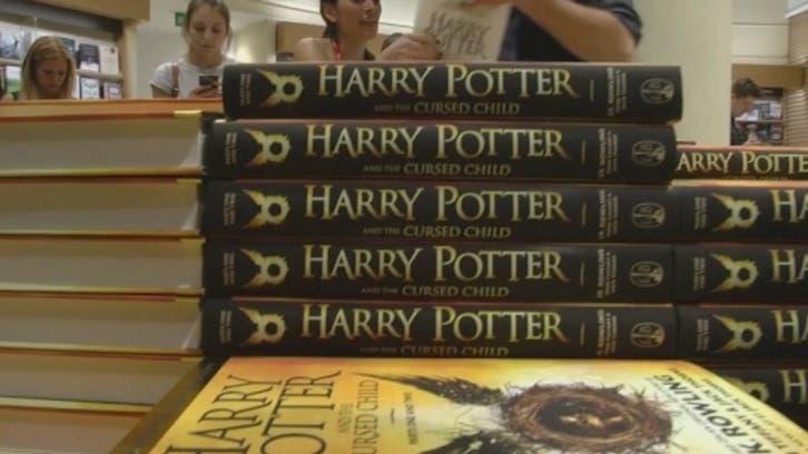 هاري بوتر سلعة ذهبية في متاجر الكتب
