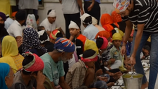 VIDEO: Inside India's Sikh temple community kitchen that feeds thousands daily