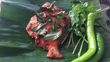 Banana leaf wrapped steamed fish making a comeback in India