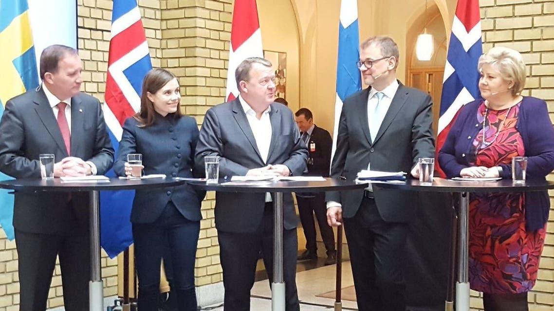 رؤساء حكومات دول رابطة الشمال الاسكاندينافية 3