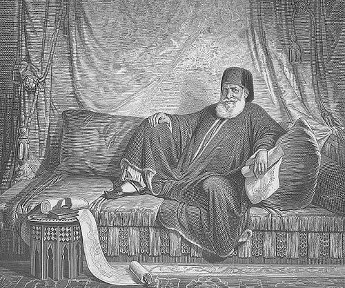 رسم تخيلي لمحمد علي باشا