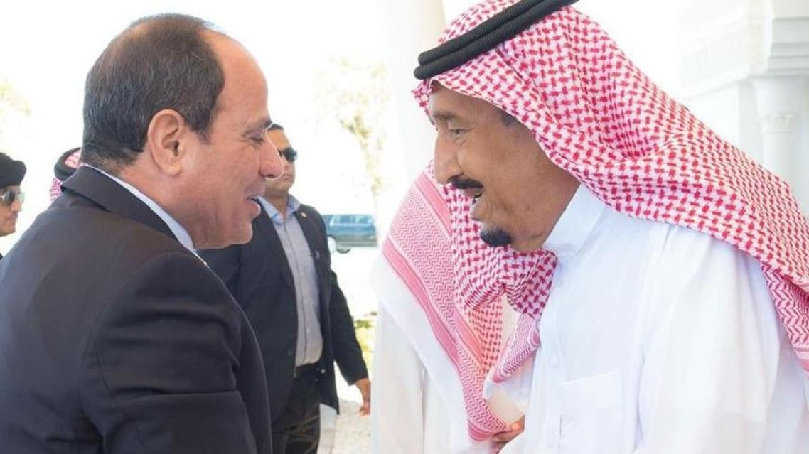 King Salman and Sissi (Supplied)