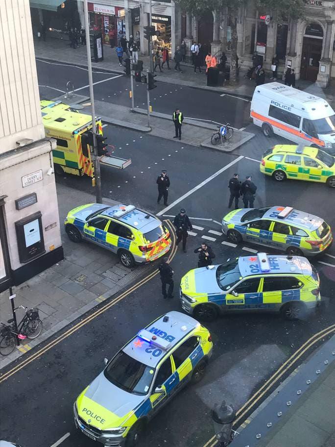الحادث وقع في وسط العاصمة البريطانية