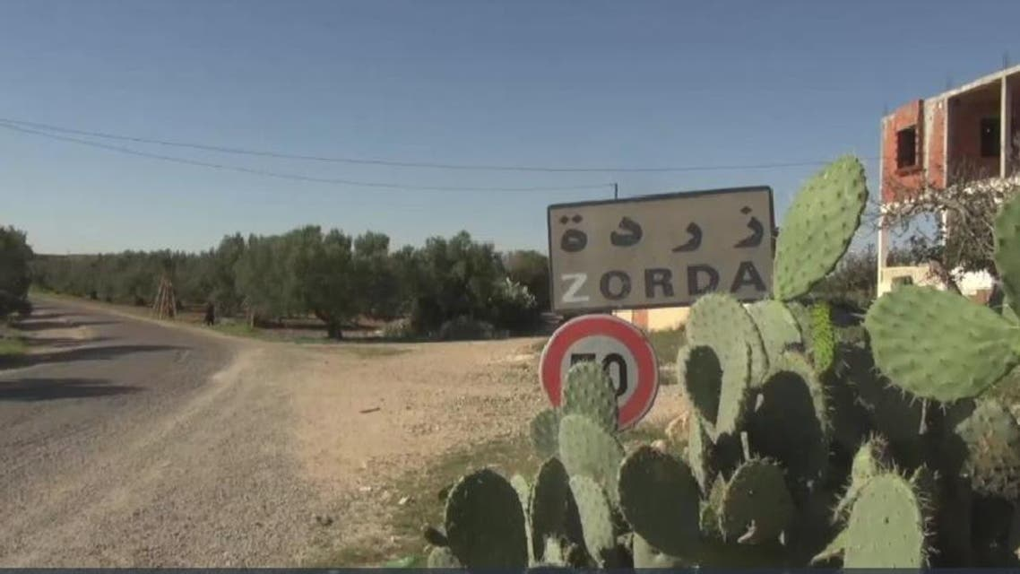 Tunisia suicide bomber home (Screen grab)
