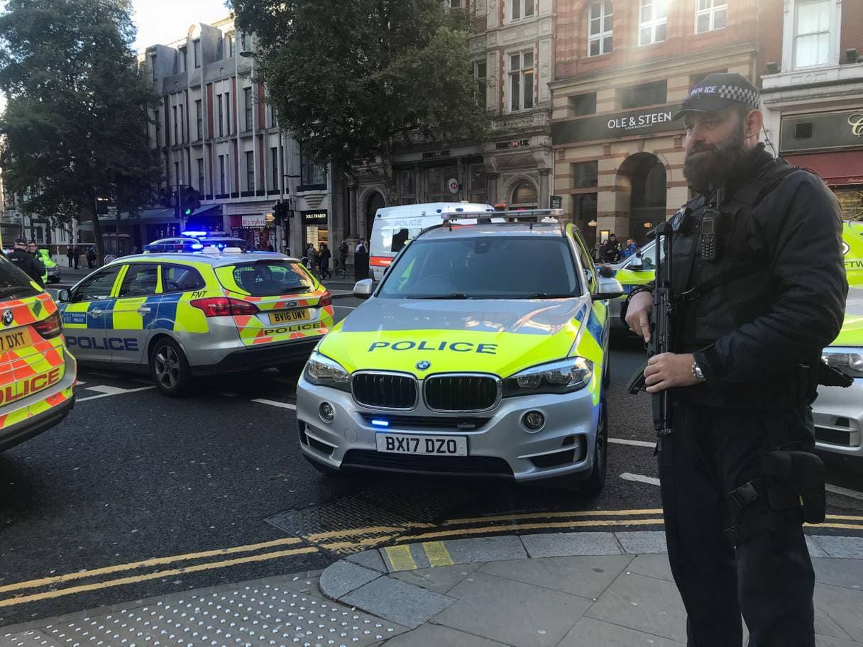 الشرطة نفت أي علاقة للحاث بالإرهاب
