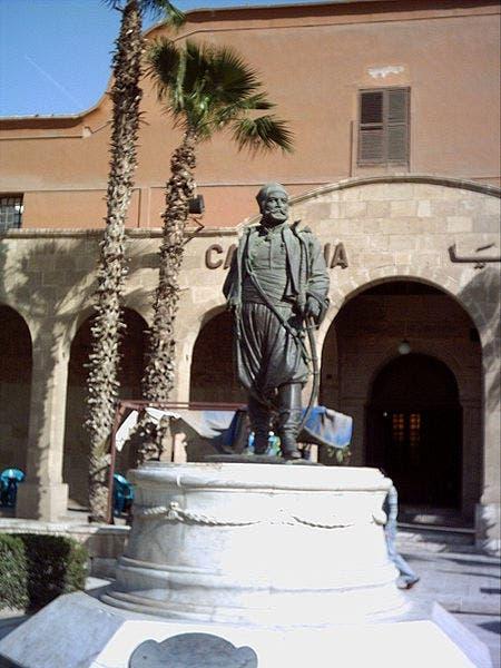 تمثال لسليمان باشا الفرنساوي بمصر