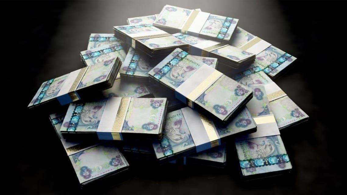 uae dirhams shutterstock money