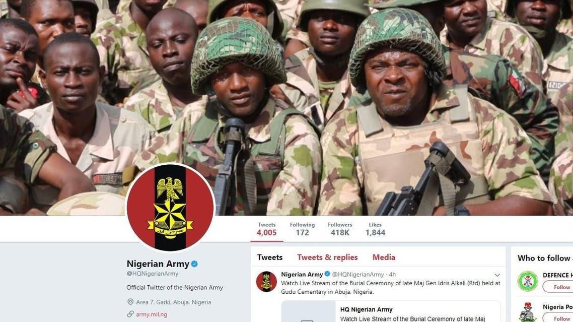 nigeria army twitter