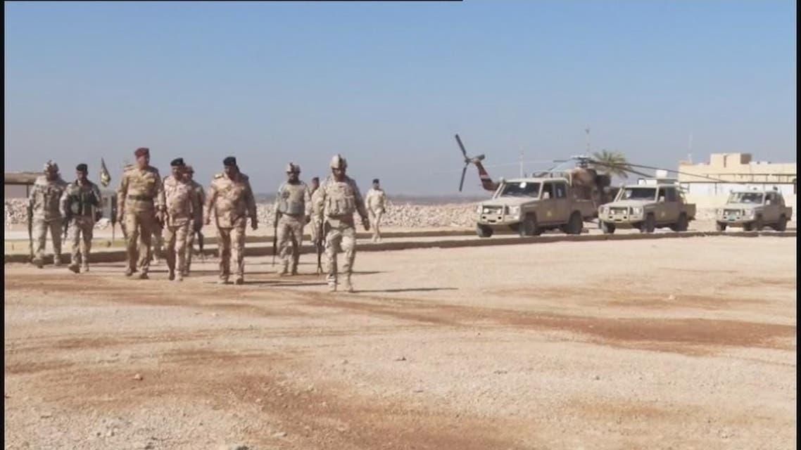 كاميرا الحدث مع الجيش العراقي على حدود سوريا