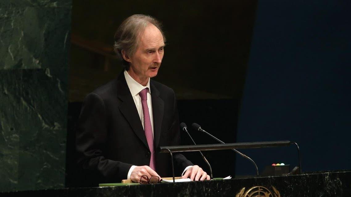 Geir Pederson Un envoy to Syria. (AP)a