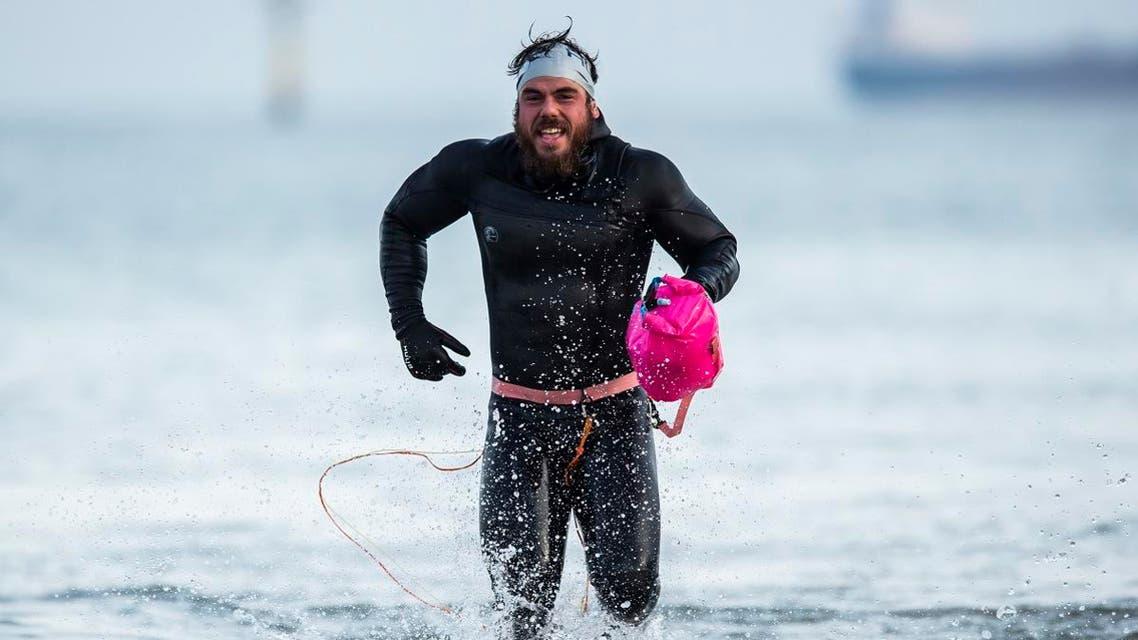 Edgley britan swimmer. (AP)