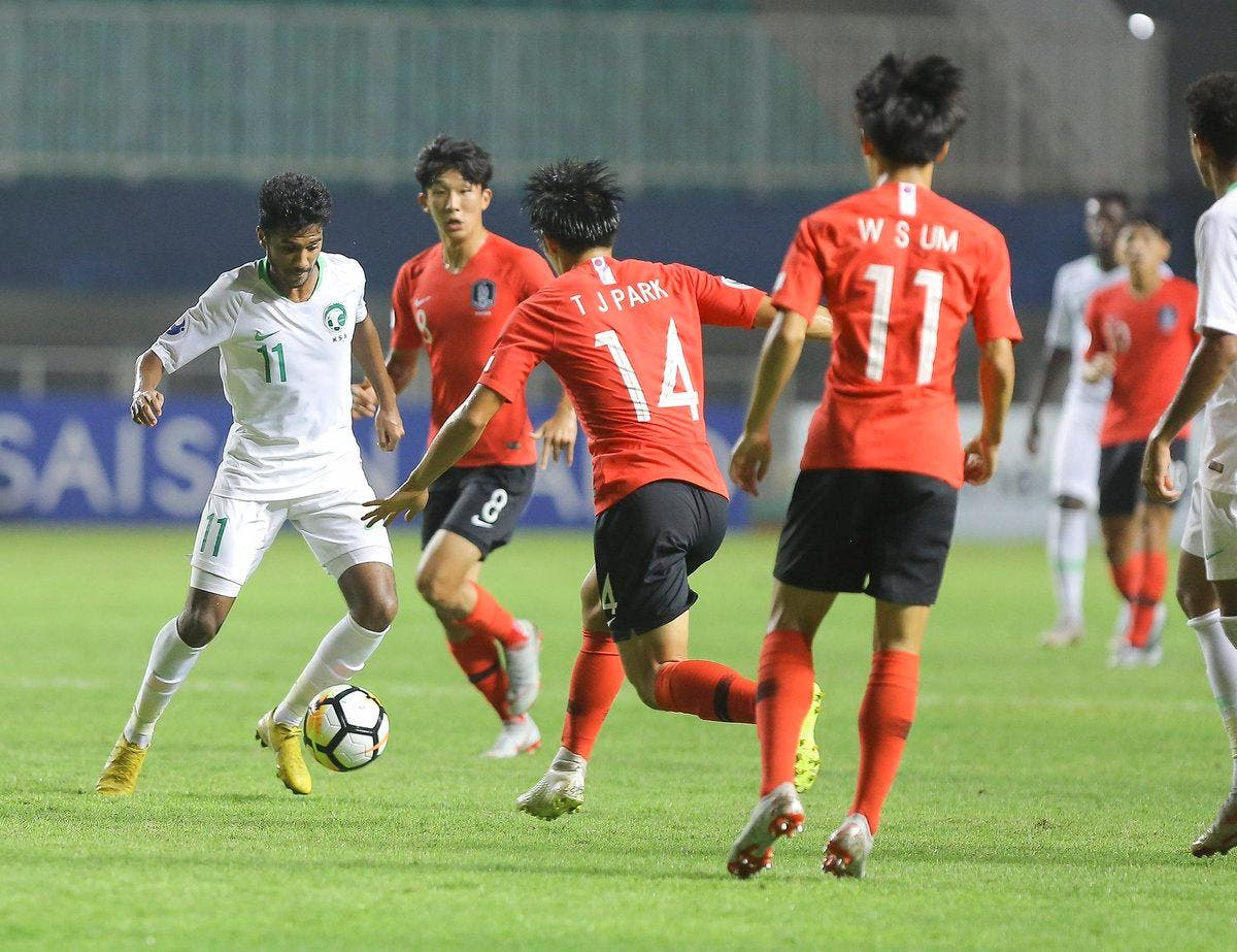 Saudi U19 South Korea in Indonesia (AFC)