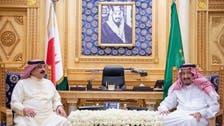 خادم الحرمین الشریفین اور بحرین کے فرماں روا کے درمیان خطّے کی صورت حال پر بات چیت
